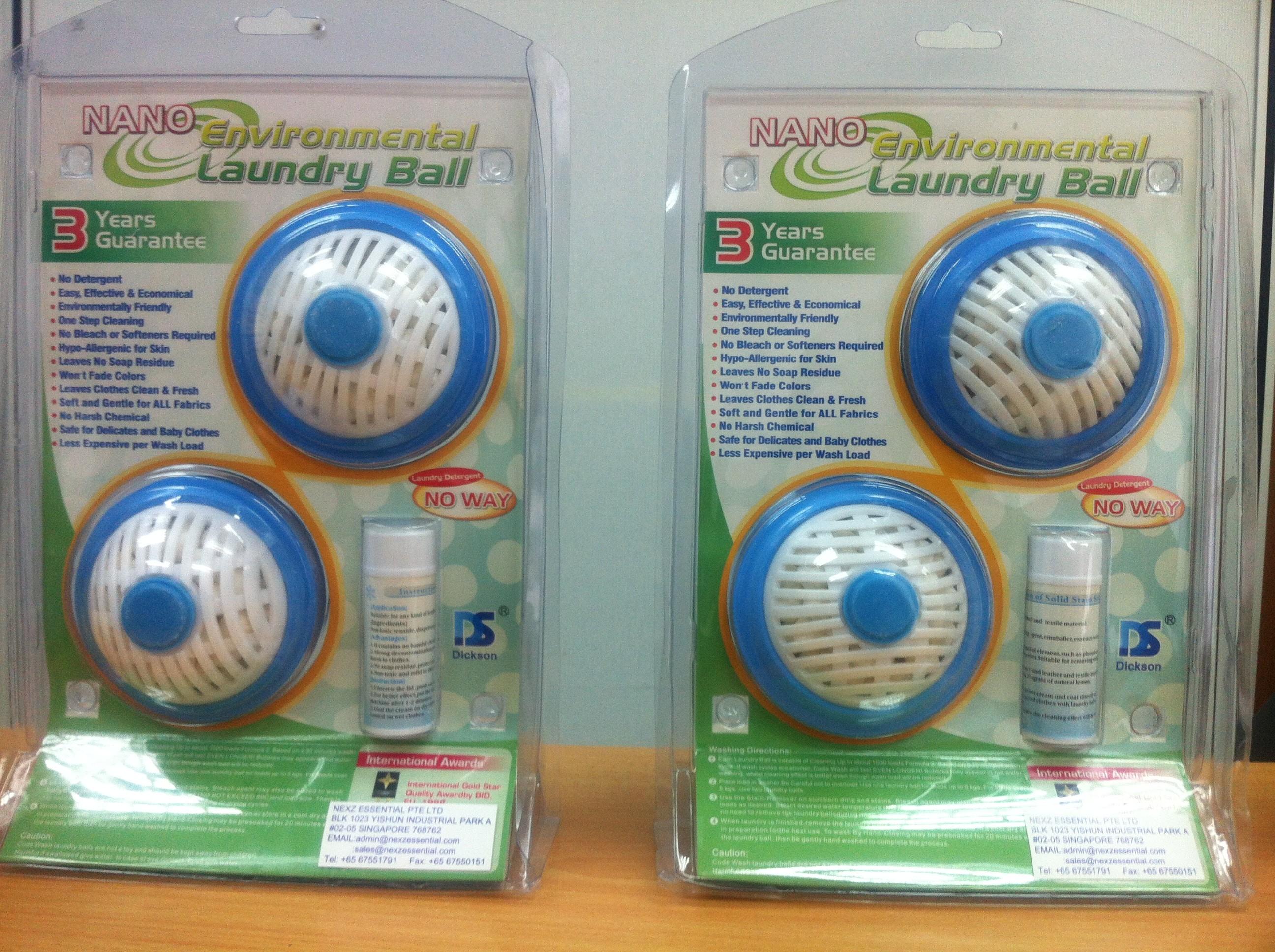 Nano Laundry Ball